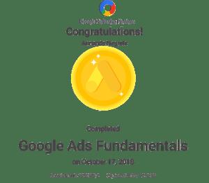 certificacion google ads de Armando Negrete